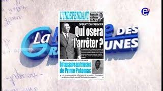 LA REVUE DES GRANDES UNES ÉQUINOXE TV DU LUNDI 26 MARS 2018