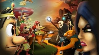 Hugo Troll Wars Android Game GamePlay (HD)