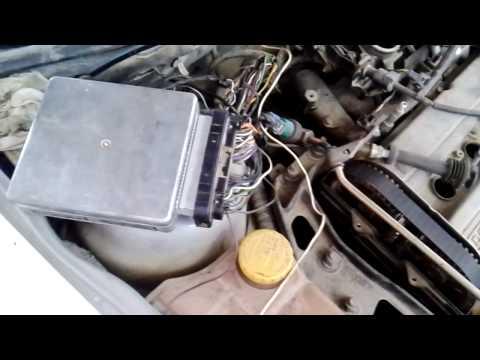 Как разобрать колодку жгута ЭБУ двигателя Фиата Альбеа.