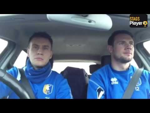 Champions DVD, ending rap with Alan Marriott, Lee Beevers and John Dempster