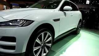 Tokyo Motor Show 2015 - Jaguar F-Space