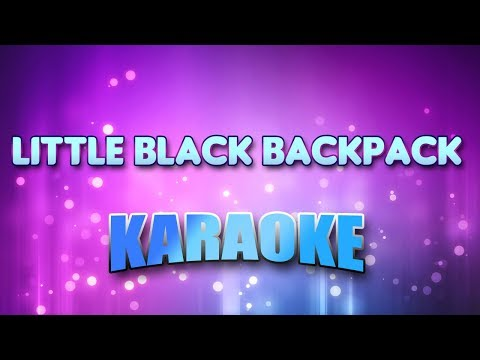 Stroke 9 - Little Black Backpack (Karaoke & Lyrics)