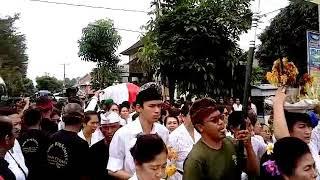 Pemakaman Desak Putu Kari Istri Pahlawan Nasional Bali I Gusti Ngurah Rai (28/12/2017)
