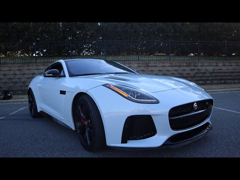 Jaguar F-Type SVR review en español