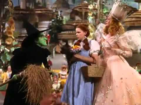 glinda tells off the wicked witch youtube