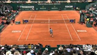 Rafa Nadal - Top Breathtaking Passing Shots