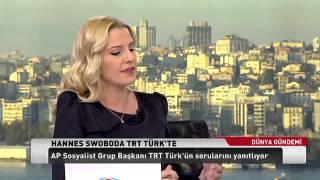 HANNES SWOBODA TÜRKİYE-AB İLİŞKİLERİ ÜZERİNE AN INTERVIEW ON TURKEY-EU RELATIONS