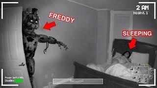 Creepy FNAF Animatronic Sneaks Into My Room...