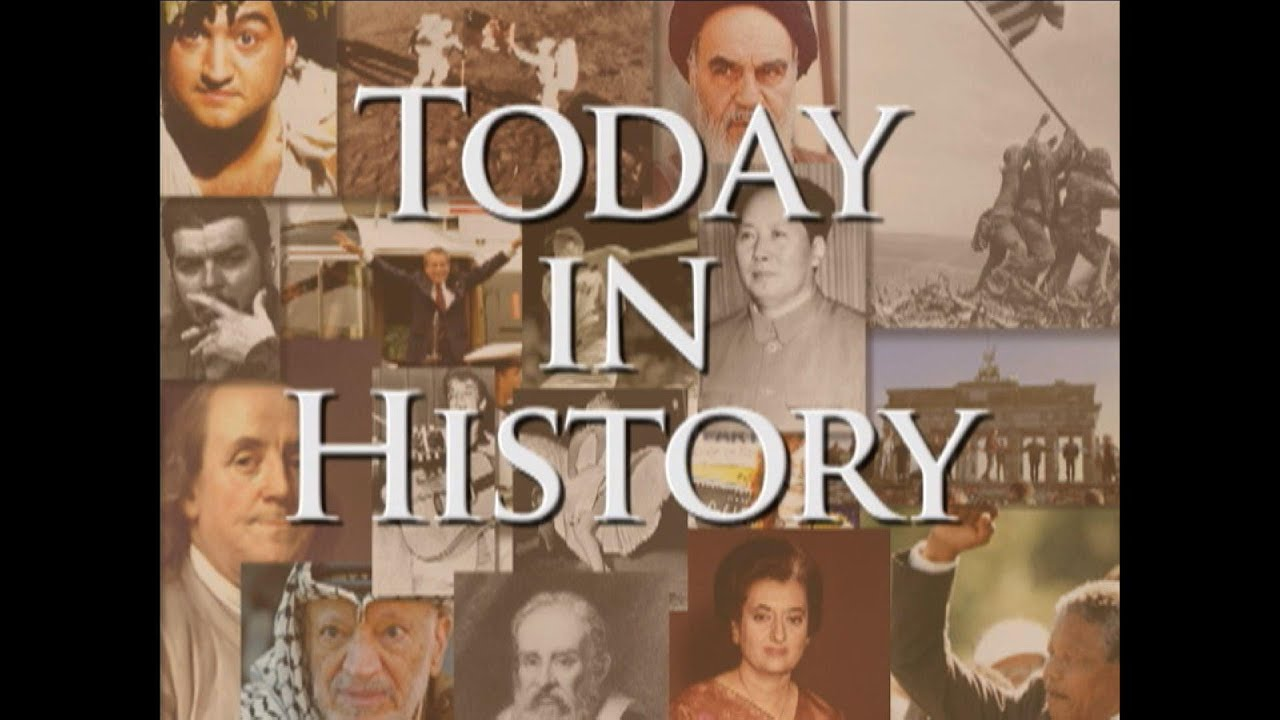 Today in History for October 3rd