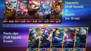 ZXUAN Full Squad vs Impunity ft KneEr ex Evos