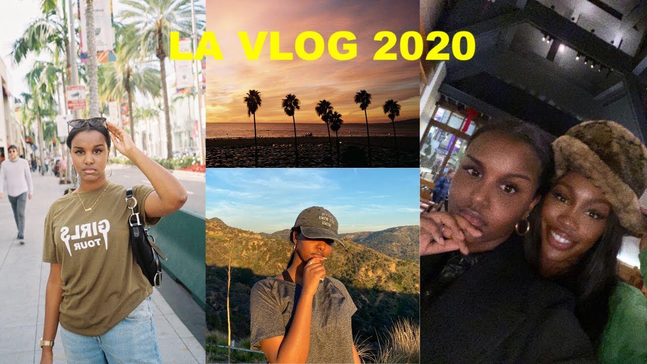 LA VLOG 2020 - Visiting Hollywood, Venice Beach, Malibu & more