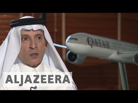 Qatar Airways chief: Air blockade 'unfair and illegal'