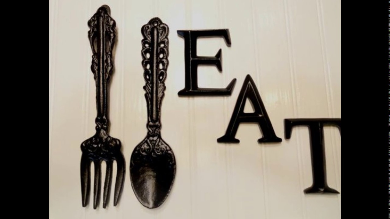 Giant Spoon And Fork Wall Decor You