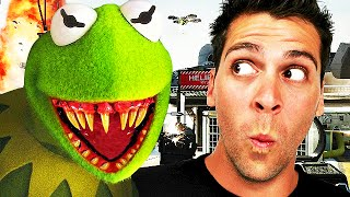 Kermit The Frog Scares EVERYONE! (Call of Duty: Black Ops 2 Voice Trolling)