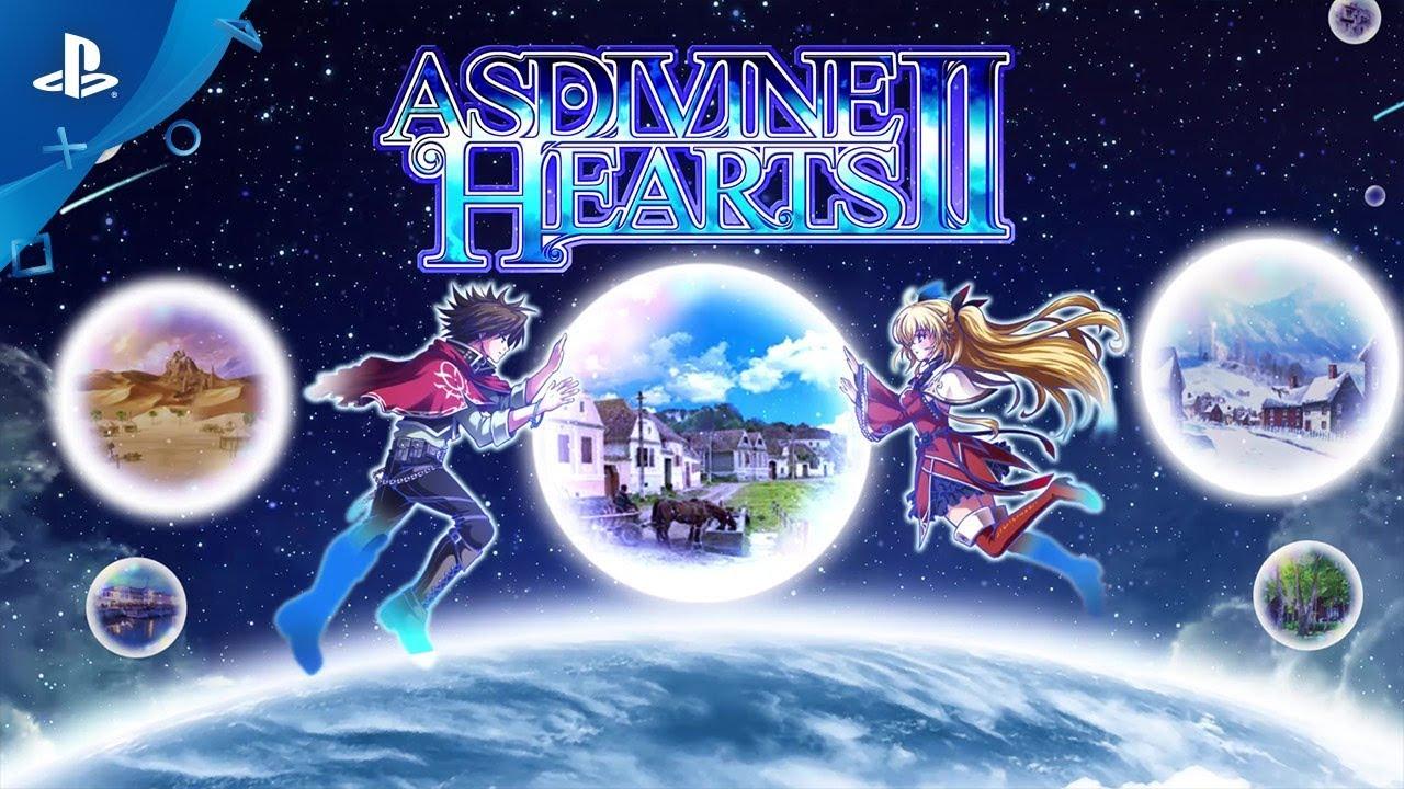 Asdivine Hearts II - Official Trailer   PS4, PS Vita