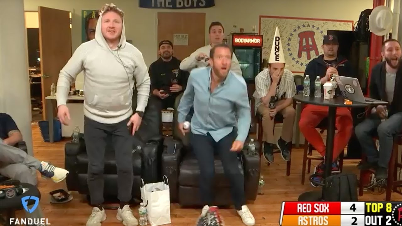 promo code 6ae0d d0101 Red Sox Fans React to Winning ALCS Game 3 — The Barstool Electric Chair