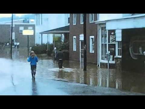 1972 - Flood in West Newton, PA