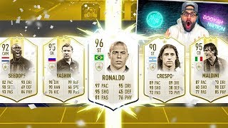 YES! MY MOST ICONS DRAFT EVER! FIFA 19 Ultimate Team Draft