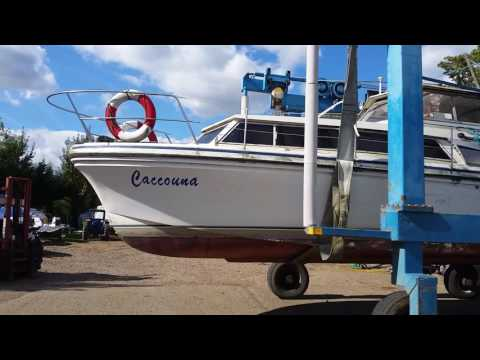 My new Marine Projects Princess 32 motor cruiser