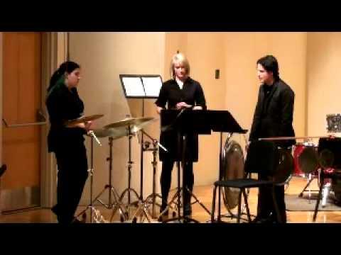 Two Movements for Percussion Trio