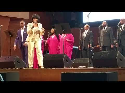 Donald Lawrence at Gospel Festival with Vanessa Bell Armstrong