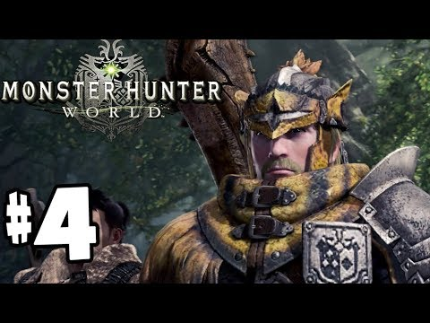 Monster Hunter World Part 4 The Forest Expedition! No time Limit?