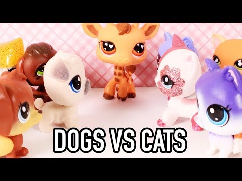 LPS - FIGHT! (CATS VS DOGS EPISODE 1)