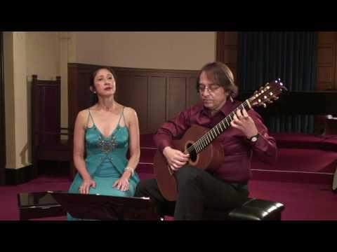 Lachin with Vismaya Lhi - soprano and Dusan Bogdanovic - guitar