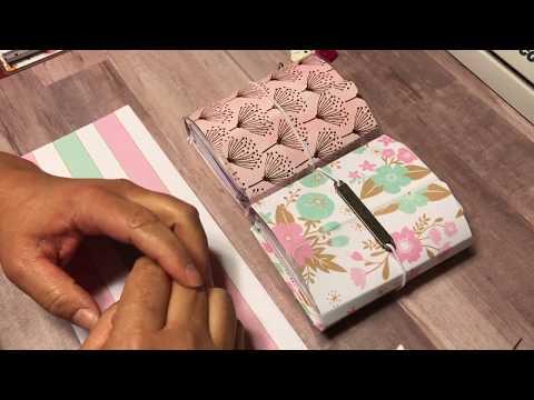 DIY Micro Travelers Notebook Tutorial