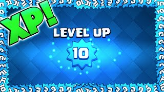 SO MUCH XP! - Clash Royale - Leveling Up To Level 10!