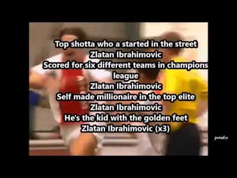 Sanjin & Youthman Zlatan Ibrahimović Song Lyrics