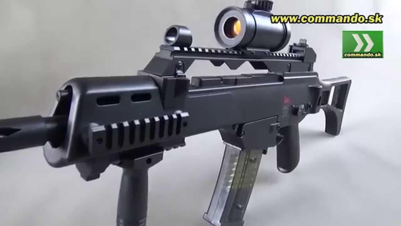 umarex airsoft gun heckler koch hk g36c aeg 6mm funnydog tv. Black Bedroom Furniture Sets. Home Design Ideas