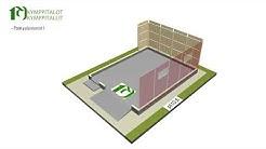 Kuinka pienelementeistä pystytetään rakennus?
