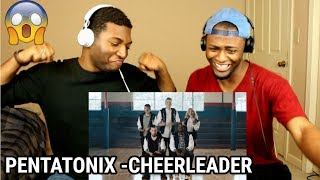 Cheerleader – Pentatonix (OMI Cover) (REACTION)