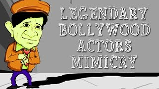 Hilarious Mimicry Of Legendary Bollywood Actors | Abin Sinha