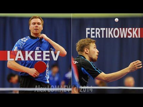 Vasily LAKEEV - Pawel FERTIKOWSKI. GAC Group 2014 ITTF World Tour Belarus Open