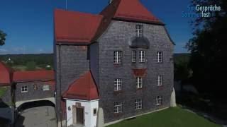 Seegespräche gehen in die Luft - Robert Stein und Stefan Hief auf Schloss Kempfenhausen