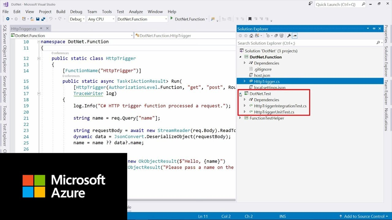How to test Azure Functions | Azure Tips and Tricks