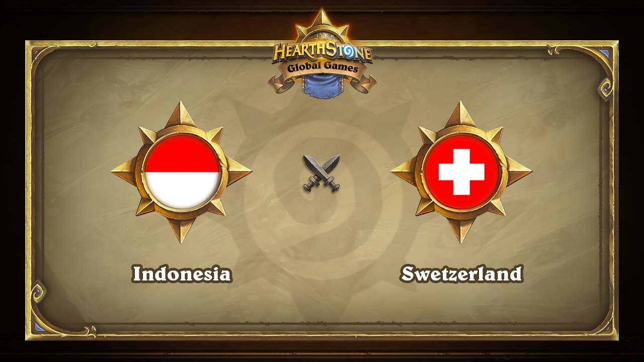 Индонезия vs Швейцария | Indonesia vs Swerzerland | Hearthstone Global Games (09.05.2017)