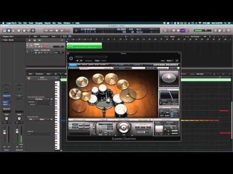 Realistic Cymbal Swells In Logic With Superior Drummer 2