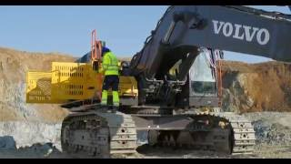 Volvo crawler excavator EC750E - Easy access & availability