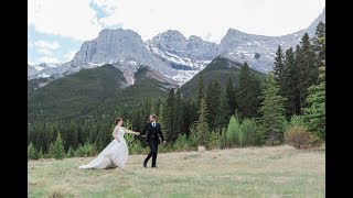 Canmore Wedding Photographer: Quarry Lake and A Bear & Bison Inn