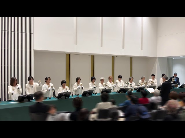 """ハンドベル Handbell, """"The Christmas Song"""", Kobe YMCA Bell-choir, 2019 Dec"""