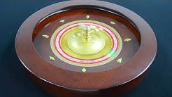 Real Casino Style Wood Roulette Wheel