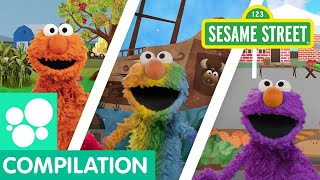 Sesame Street: Find Colors with Elmo And Abby | I Spy Compilation
