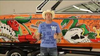 FELLERS Mastercraft Vinyl Boat Wrap Video