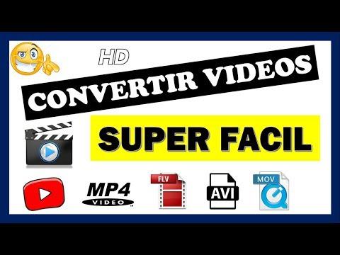 Como CONVERTIR Vídeos A Cualquier Formato (MP4, AVI, WMV) 😎