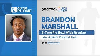 Brandon Marshall Talks Cam, Wentz, Deshaun Watson & More with Rich Eisen | Full Interview | 2/23/21