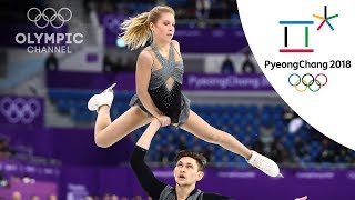 16 Figure Skating pairs qualify for the free skating | Day 5 | Winter Olympics 2018 | PyeongChang