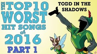 The Top Ten Worst Hit Songs of 2016 (Part One)